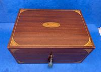 Edwardian Sheraton  Revival Mahogany Box (4 of 10)