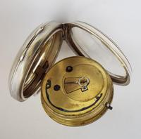 Antique silver Lancashire Watch Company Pocket Watch. (4 of 5)
