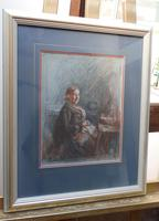 Victorian pastel portrait of grand mam artist Dodd (Free shipping to Mainland England) (6 of 10)