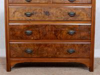 Chest of Drawers Burl Walnut Victorian (3 of 11)