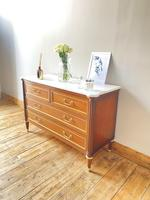 French Marble Drawers / Louis XVI Style Commode / Directoire (7 of 7)
