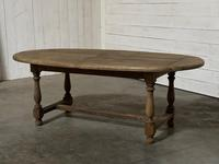 Super Rustic French Oval Farmhouse Dining Table (6 of 36)