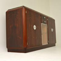 1920's French Art Deco Rosewood & Marble Sideboard (4 of 13)
