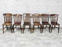 Harlequin Set of 6 Windsor Kitchen Chairs (5 of 5)