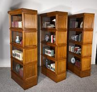 Three Stacking Bookcases In Light Oak Composed 4 Element-20th Century-france (9 of 11)
