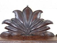 Victorian Carved Oak Wall Hanging Shelf (3 of 7)