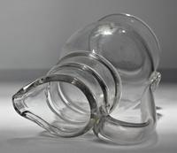 Victorian French 'Normandy' Mould-blown, Engraved Glass Cider / Wine Jug (3 of 6)