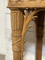 Wonderful French Walnut Console Table (28 of 36)