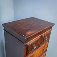 Compact Oak Chest on Chest (8 of 8)
