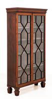 Georgian Style Mahogany Glazed Bookcase (6 of 6)