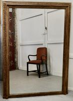 Very Large French Gilt Overmantel or Over Mantle Mirror (2 of 7)