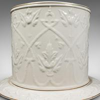Antique Stilton Dome, English, Ceramic, Cheese Keeper, Cracker Plate, Victorian (4 of 12)
