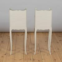 Pair of French Painted Bedside Cabinets Tables (5 of 5)