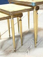 Nest 3 Onyx & Brass Tables (11 of 16)