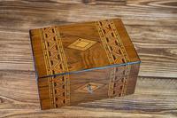 Tunbridge Ware Table Box c.1880 (5 of 8)