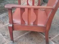 Arts & Crafts Leather Armchair (4 of 4)