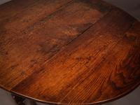 17th Century Gate Leg Dining Table (3 of 8)