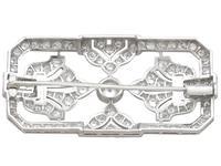 4.53ct Diamond & Platinum Brooch - Art Deco - French c.1930 (5 of 9)