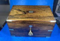 Victorian  Rosewood Stationary Box (13 of 33)