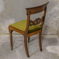 Set of Four William IV Mahogany Dining Chairs (6 of 7)