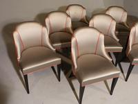 Good Set of 8 Art Deco Period Salon Chairs (2 of 7)