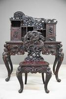 Carved Japanese Meiji Desk (9 of 12)