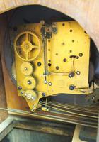 Grandmother Clock Fine Musical Longcase Clock Oak & White Dial c.1930 (13 of 14)