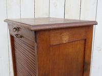 Oak Tambour Front Filing Cabinet (3 of 7)