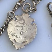 Solid Silver Double Watch Albert / Albertina 40g c.1904 (4 of 4)
