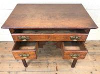 19th Century Oak Side Table (3 of 8)
