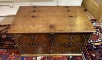 18th Century Brassbound Elm Trunk (4 of 18)