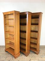 Three Yew Wood Reproduction Bookcases (8 of 9)