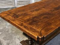 French Oak Farmhouse Refectory Dining Table (4 of 20)