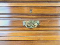 Antique Edwardian Satinwood Chest of Drawers (5 of 10)