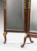 19th Century Triple Plate Dressing Mirror (4 of 5)
