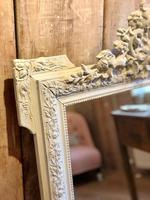 Antique French Crested Mirror (2 of 4)