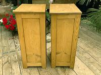 Two 'will split' Lovely & Matching Bedside Cabinets / Cupboards (7 of 8)