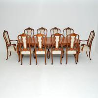Antique French Kingwood Dining Table & Ten Chairs (2 of 23)