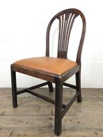 Georgian Chair with Drop-In Leather Seat (3 of 13)