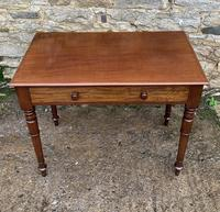 Antique Victorian Mahogany Side Table (14 of 17)