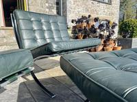 Pair of Barcelona Chairs & Ottoman (21 of 30)