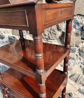 Superb Quality Gillows Mahogany Whatnot (6 of 9)