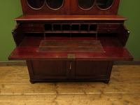 Antique George II Mahogany Secretaire Bookcase of Immense Character (9 of 16)
