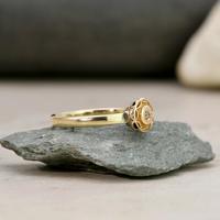 The Antique Victorian Golden Daisy Diamond Ring (2 of 3)