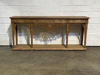 Wonderful French Walnut Console Table (20 of 36)