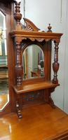 Victorian Walnut Mirrored Sideboard (2 of 6)