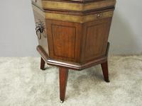 George III Inlaid Mahogany Octagonal Wine Cooler (5 of 11)