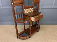 Large Victorian Walnut Hall Stand by James Shoolbred and Co. (13 of 17)