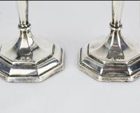 1912-1913 Birmingham William Hutton & Sons Silver Candlesticks (10 of 10)