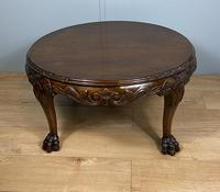 Mahogany Coffee Table - Circular (3 of 6)